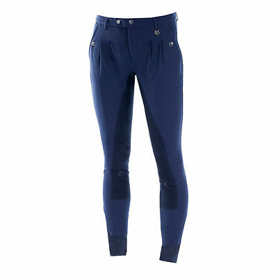 Horze Grand Prix Men's Full Seat Breeches with Pleats