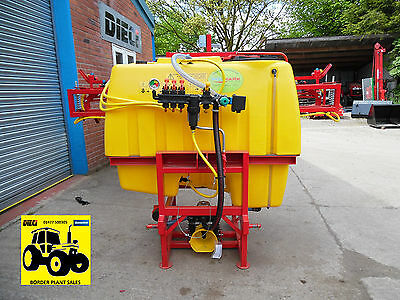 Tractor Mounted Crop Sprayer 200-1000L Compact Brand New Vat, Pto & Delivery Inc
