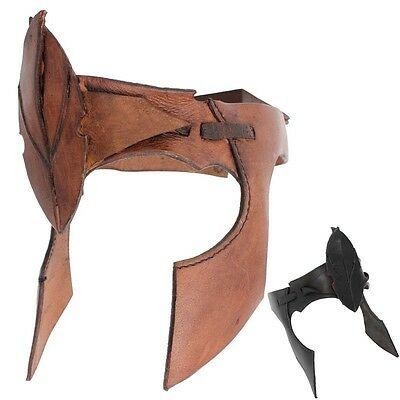 Quality Leather Elven Headband. - Perfect For Stage Costume & LARP. 2 Colours