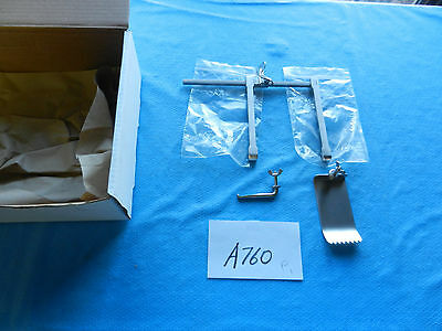 V. Mueller Neuro Spine Spinal NL5237 Scoville Hemilaminectomy Retractor NEW!!