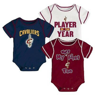 Cleveland Cavaliers Infant Body Suits