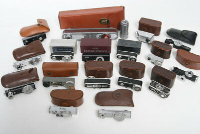 17 Assorted Vintage Rangefinder Collection With Original Cases or Box #1