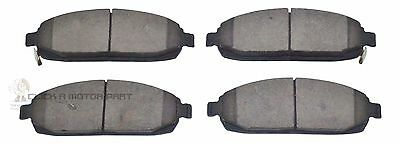 Jeep Grand Cherokee 3.0 Crd 4.7 5.7  6.1 2005-2010 Front Brake Disc Pads Set Of4