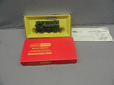 Triang Hornby R51S GWR 0-6-0 Pannier Tank WITH SMOKE UNIT BOXED