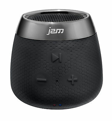 Jam Replay Mini Bluetooth Speaker - Portable Rechargeable Wireless Black