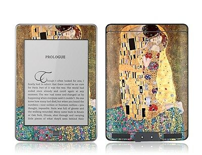 Gelaskins Protective Vinyl Skin for Kindle Touch - The Kiss