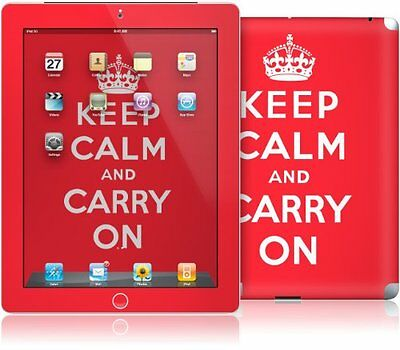 GelaSkins Protective Skin for Apple iPad 2/3/4 - Keep Calm and Carry On