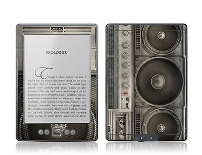 Gelaskins Protective Vinyl Skin for Kindle 4th Generation - Boombox