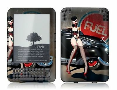 Gelaskins Protective Vinyl Skin for Kindle Keyboard - Fuel