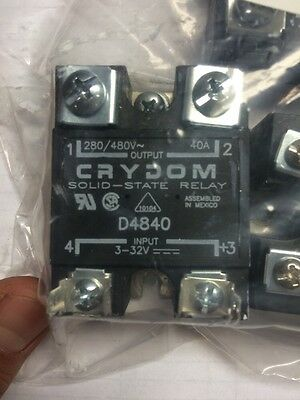Crydom D4840 Solid State Relay 280/480V 40A