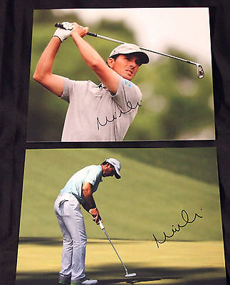 Mike Weir Autographed Golf Photo's       2-  8x10's with COA