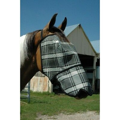 XS - XL Fly Mask With Nose Protection