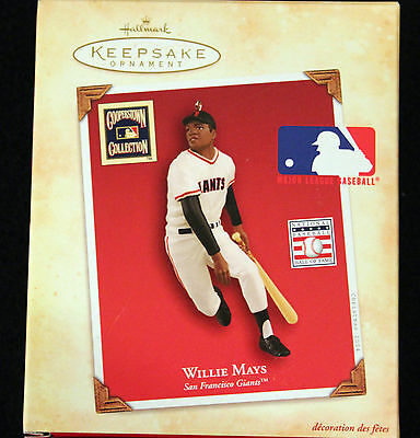 willie mays hallmark keepsake collection ornament