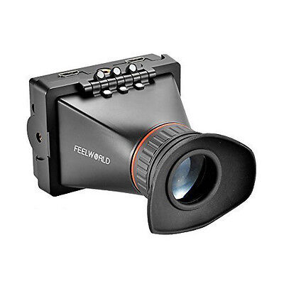 F8 Feelworld E350 3.5 Inch EVF Electronic ViewFinder Supports BMPCC for Camera