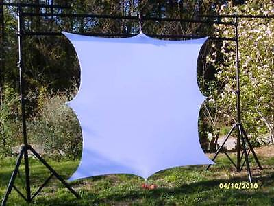 "135"" Projection Screen, Dj Screen, Front/rear Projector, 120"" X 72"" (10' X 6')"