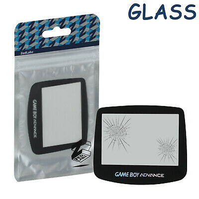 Screen lens for Advance GameBoy GLASS cover holographic GBA AGS-001 ZedLabz