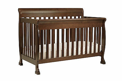 Davinci M5501-Q  4-in-1 Convertible Crib Espresso Finish