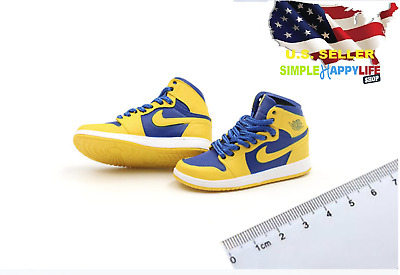 """1//6 Men Shoes Sneakers RED For 12/"""" Phicen Hot Toys Custom Male Figure ❶USA❶"""