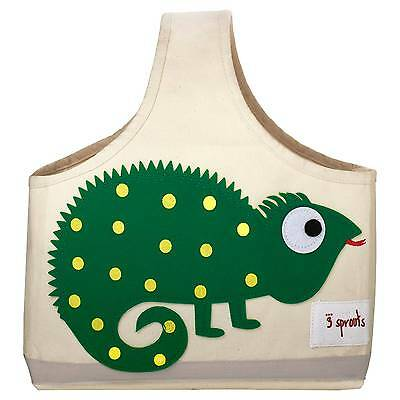 3 Sprouts Fabric Storage Caddy - Iguana