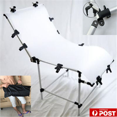 60x130cm Adjustable Still Life Product Photography Shooting Table Support+CASE