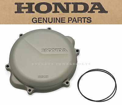 New Honda Clutch Access Cover and Gasket Seal 05-08 CRF450 X OEM Right Case #S21