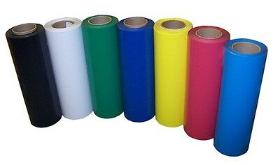 """15""""x3ft Heat Transfer PU Vinyl with sticky back,easy weeding, for Cutter, Press"""