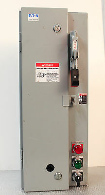 Cutler Hammer Eaton ECN1611CHC Fused Combination Starter Disconnect for Motors
