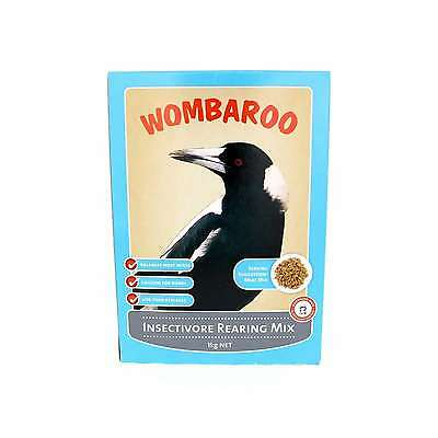 Wombaroo Insectivore Rearing Mix Bird Food Aviary 1kg