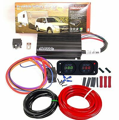 Redarc Bcdc1240 Dual Battery Isolator System Kit Dc To Dc Charger Mppt Solar Agm