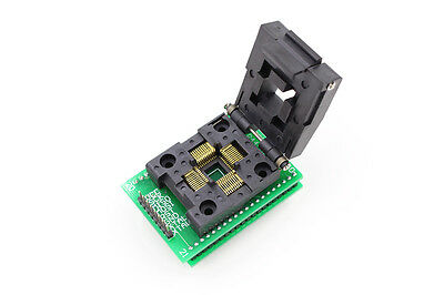 TQFP44 QFP44 LQFP44 To DIP40 IC Programmer Adapter Test Socket 0.8mm Pitch