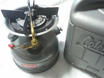 Coleman Stove, Dual Fuel, In Excellent Used Condition
