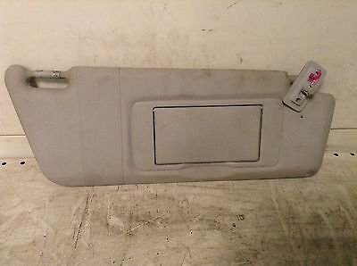 Mercedes C Class W203 Front Right Driver Side Offside Os Sun Visor Grey