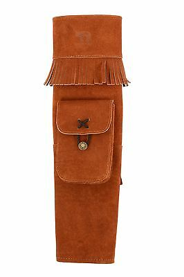 Bearpaw Back Quiver Suede Indian Summer Traditional Archery