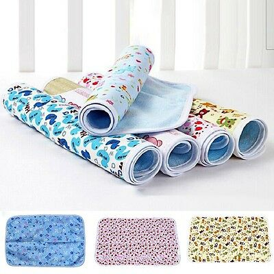 New Baby Cute Changing Pad Infant Travel Home Urine Mat Waterproof Cover 50*70CM