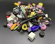 ULTIMATE LIQUORICE PICK N MIX BAG - 500g, TRADITIONAL VARIETY SWEETS