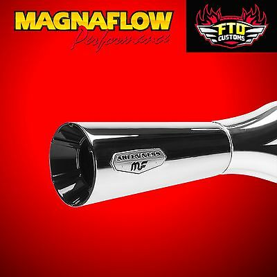 MagnaFlow F-Bomb Chrome 2 into 1 Exhaust Harley Softail 1996-2016