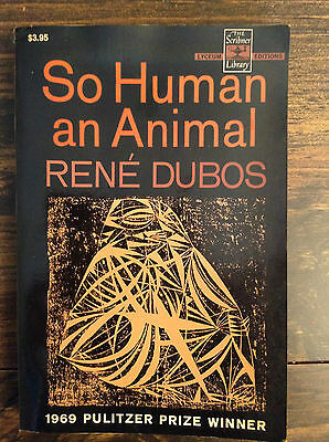 So Human an Animal by Rene Jules (paperback) store#2951