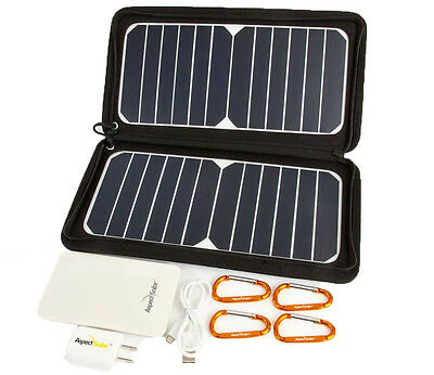 Aspect Solar DUO-Flex2 Plus Solar Panels and Battery Bundle. NEW!!!