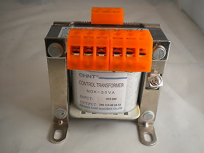 50 Va Control Panel Transformer 240-415V Output  12-24-48-110-230V Ndk-50