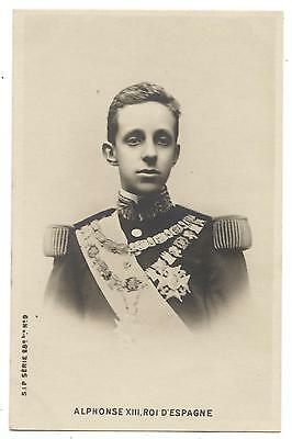 Alfonso Xiii King Of Spain From 1886 To 1931.alphonse Xiii Roi D'espagne.