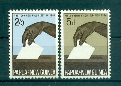 EMBLEMES - EMBLEM PAPUA NEW GUINEA 1964 First Common Roll Election