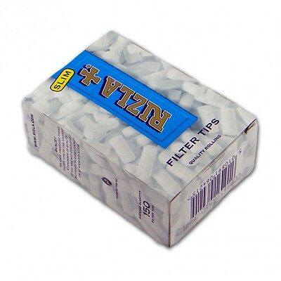 Rizla Slim 6 mm Filter Tips Long Smoking Papers Extra 5 x 150 Eindrehfilter