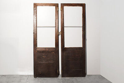 Pair of Antique Cabinet Doors c.1900