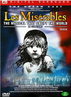 Les Miserables: The Dream Cast in Concert (1998) New Sealed DVD