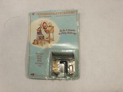 Vintage Holly Hobbie Durham No.  11 Diecast Miniature Desk with Movable Top