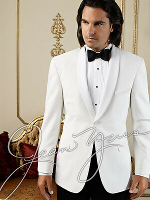 42 R NEW Men's Modern Slim Fit  White Dinner Jacket Masonic Cruise  ALL SIZES