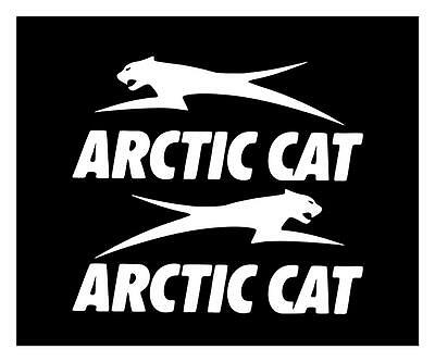 Arctic Cat 4X9 (Set Of 2 R & L) Wildcat Bearcat Zr Xf M Snowmobile Decal Sticker