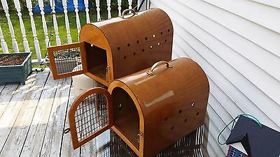 Antique Cat and Dog Kennels