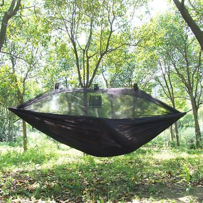 High Strength Hammock Sleeping Bed Jungle Camping Mosquito Net Army Military