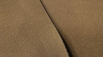 "3 Yards Desert Tan Automotive Carpet Upholstery Auto Pro Flexible 80""W 18 Oz."